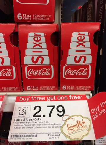 Coca Cola Sixer Target and King Kullen Deals