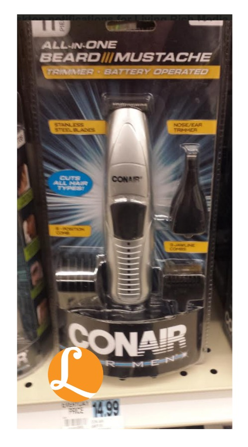 conair coupon conair all in one beard mustache trimmer just at. Black Bedroom Furniture Sets. Home Design Ideas