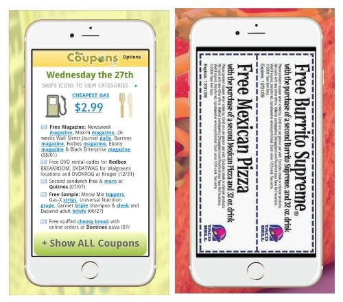 Best restaurant coupon apps for iphone