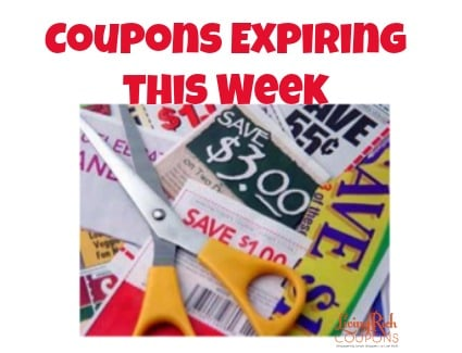 coupons expiring
