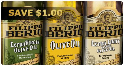 Filippo Berio Olive Oil Coupons