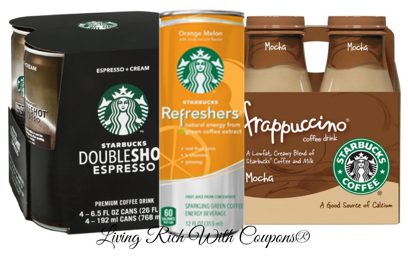 Starbucks discount coupons