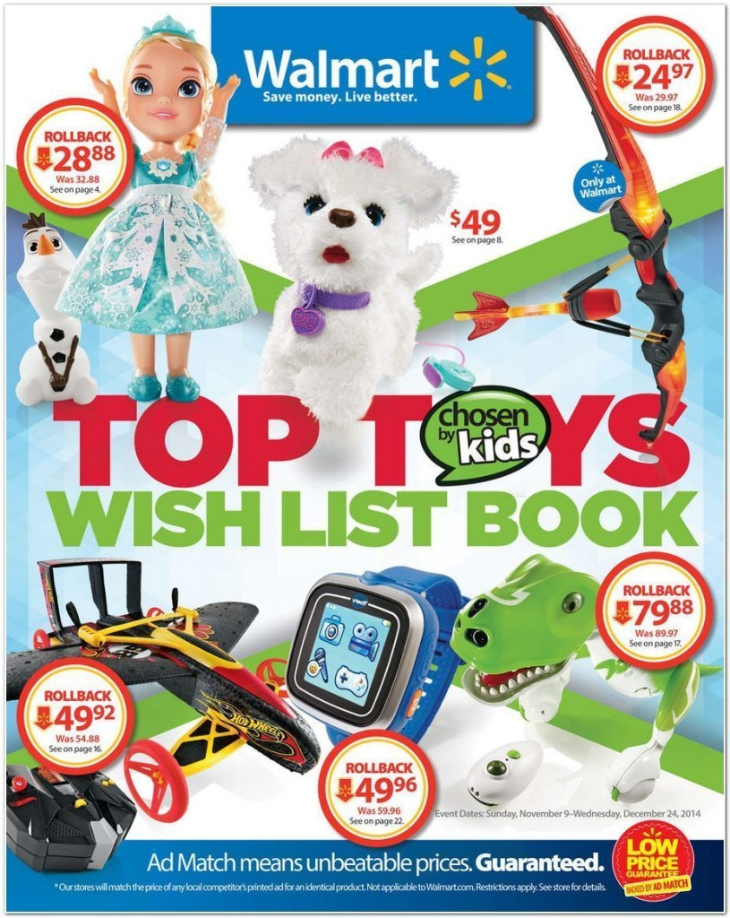 Toys At Walmart : Walmart toy book black friday deals living