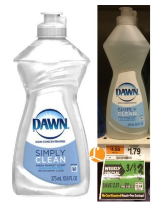 dawn soap pathmark