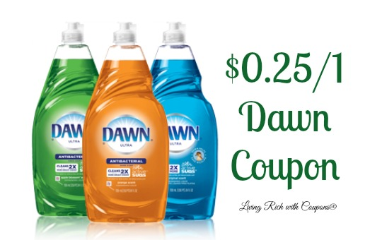 Dawn soap coupons 2018