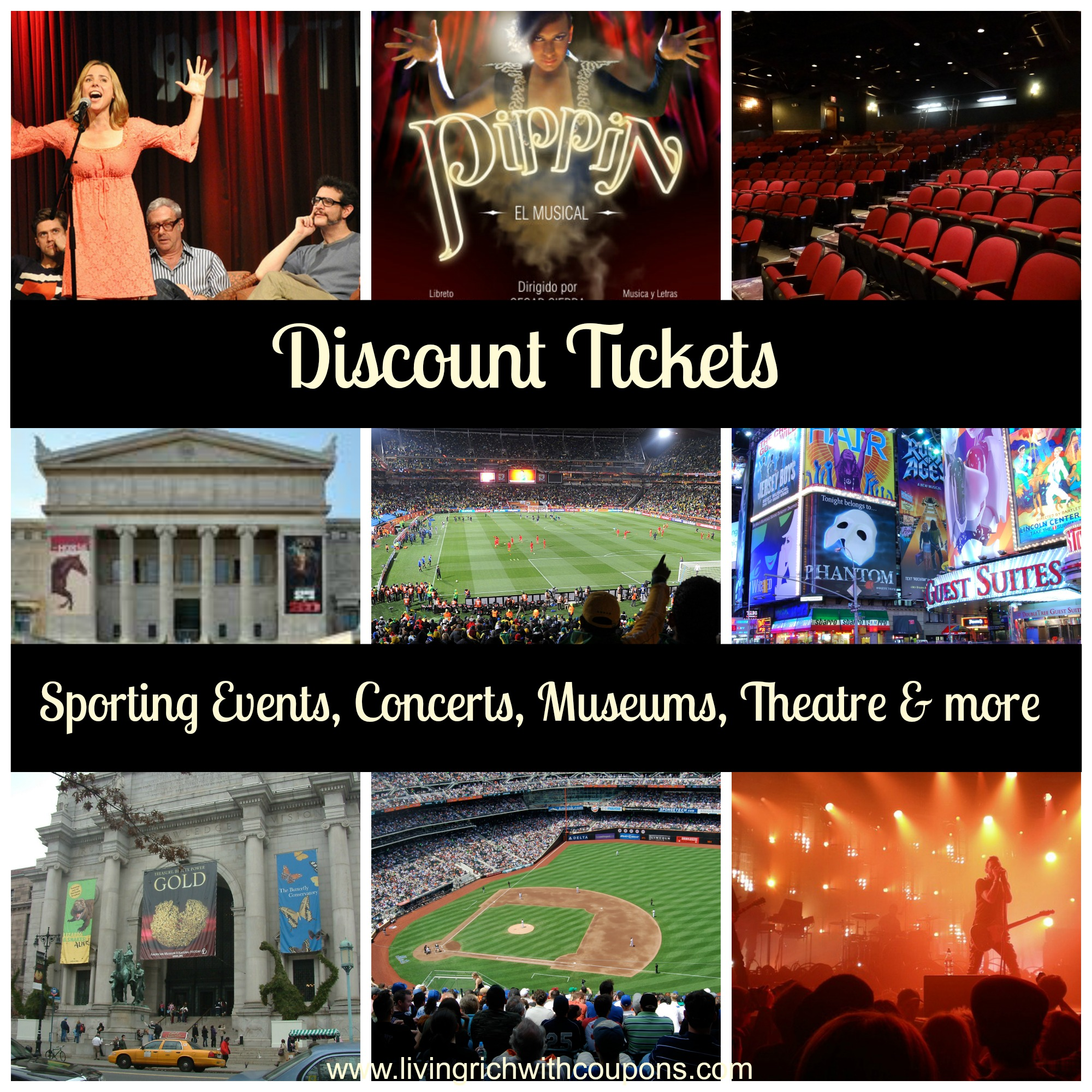 Buy tickets to popular events for low prices grinabelel.tk: Concert Tickets, Sports Tickets, Theatre Tickets.