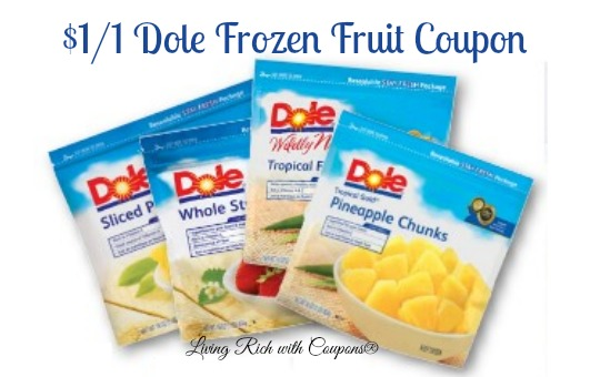 Dole fruit coupons
