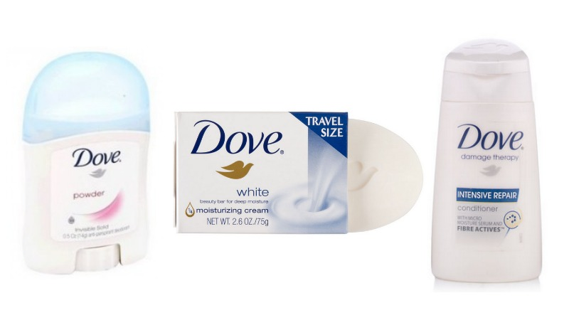 Dove Coupon - Money Maker on Trial Size Products at Walmart