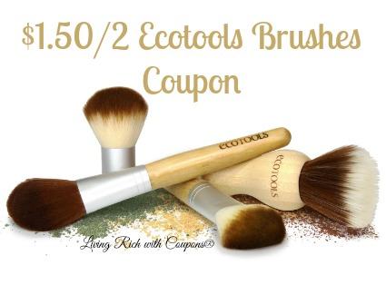 EcoTools Coupon - $1 50/2 EcoTools Coupon -Living Rich With