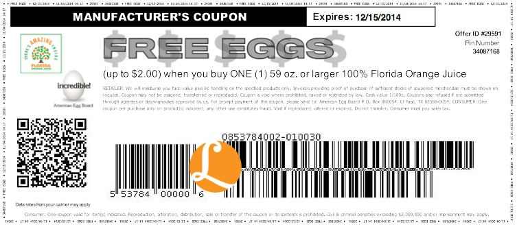 graphic regarding Egg Coupons Printable identified as Eggs discount coupons printable - Conveniently be coupon code 2018