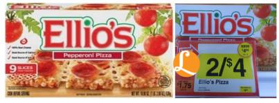 Ellios Pizza Coupon