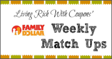 Family Dollar coupon match ups 3/9/14