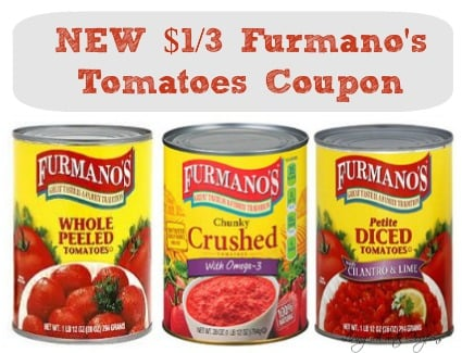 New 1 3 Furmano S Tomatoes Coupon Only 0 67 At Weis More Deals Living Rich With Coupons