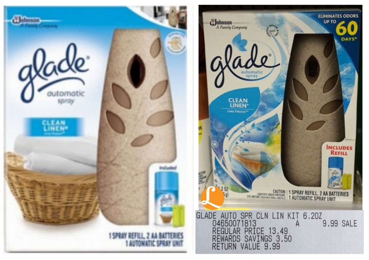 glade automatic spray starter kit coupon