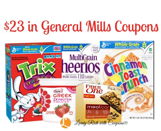 General mills manufacturer coupons