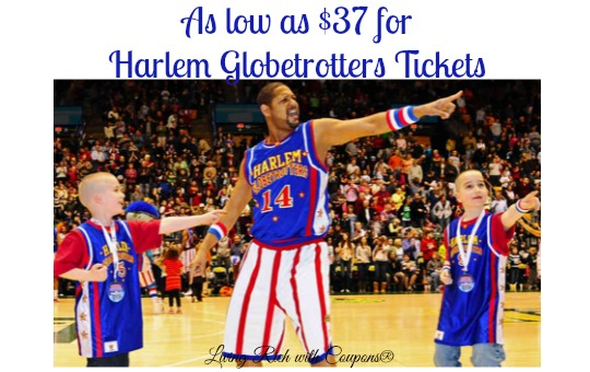 Harlem globetrotters coupon code