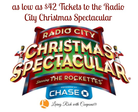 Coupon Code For Radio City Christmas Spectacular