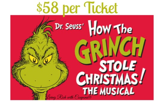 dr seuss how the grinch stole christmas the musical 58 on goldstar - How The Grinch Stole Christmas The Musical