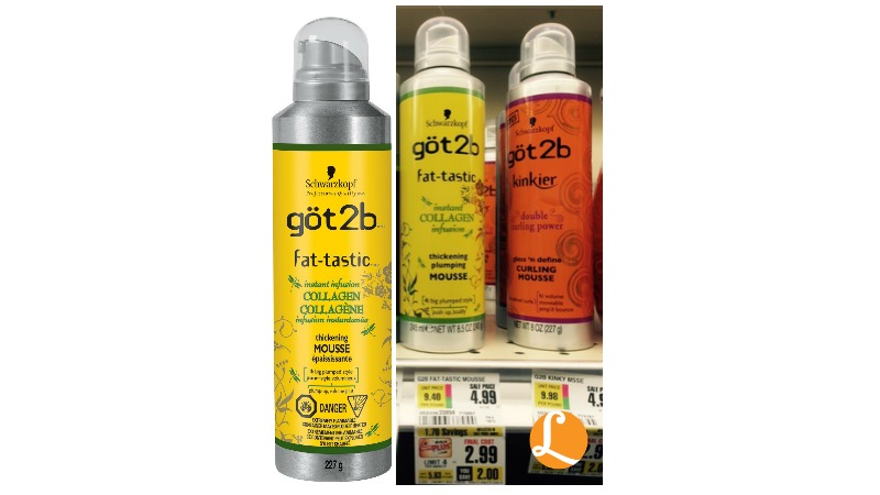Got2b hair products coupons