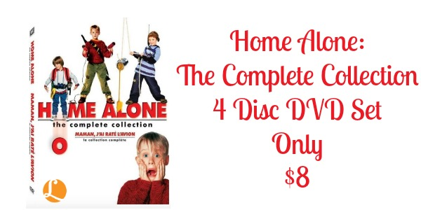 home alone the complete collection dvd 4 disc set only  8