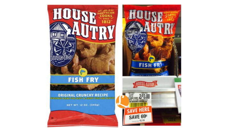 House autry coupon as low as at publix living for Publix fish in a bag
