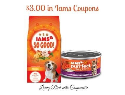 Iams $3 coupon
