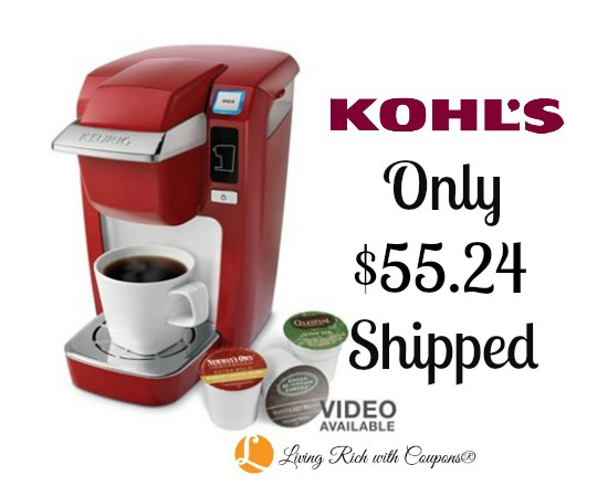 Kohl's: Keurig K10 Mini Plus Personal Coffee Brewer $55.24 ...