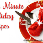 last min holiday recipes