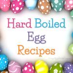 leftover hard boiled eggs