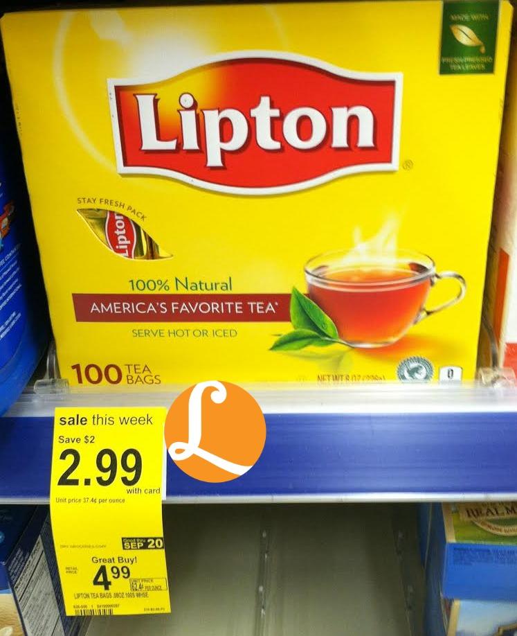 Lipton green tea coupons