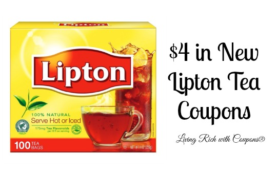 Tea collection coupons 2018