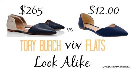 4c56f036af86 Tory Burch Flats Look Alike  12.00 - Fashionably Frugal -Living Rich ...