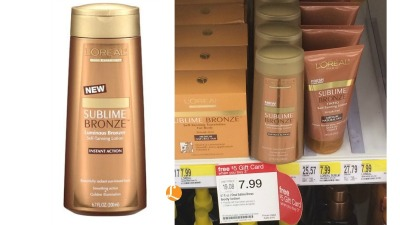 loreal sublime bronze Target