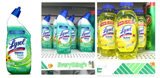lysol products dollar tree