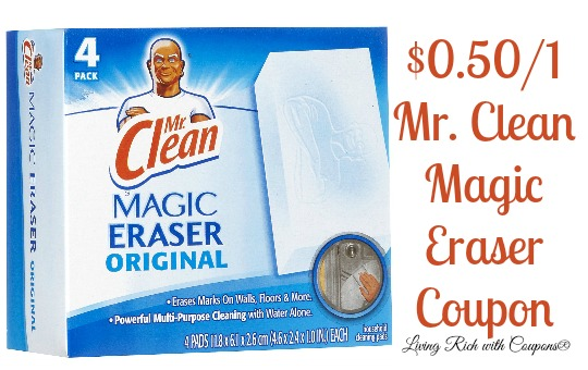 mr clean coupon off mr clean magic eraser coupon living rich with coupons. Black Bedroom Furniture Sets. Home Design Ideas