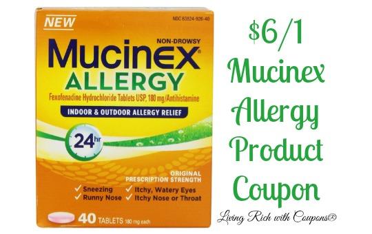 Mucinex coupon december 2018