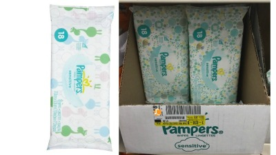 pampers wipes dollar tree