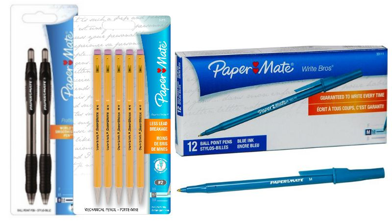 paper mate coupons Buy paper mate flair felt tip pens, medium point (07mm), assorted colors, 12 count: everything else - amazoncom free delivery possible on eligible purchases.