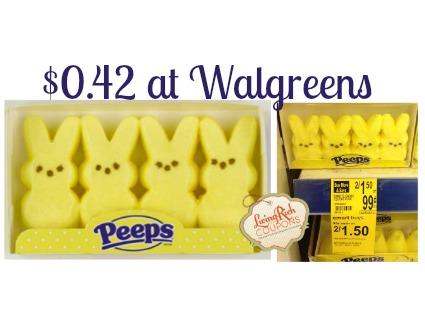 Peeps Walgreens Deal