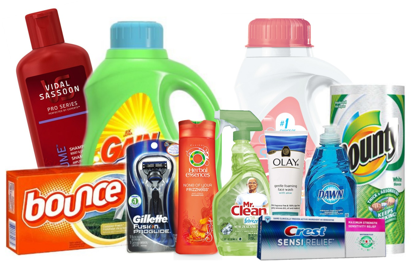 Over $123 in P&G Coupons Available to Print + $1.73 Tide Detergent at ...
