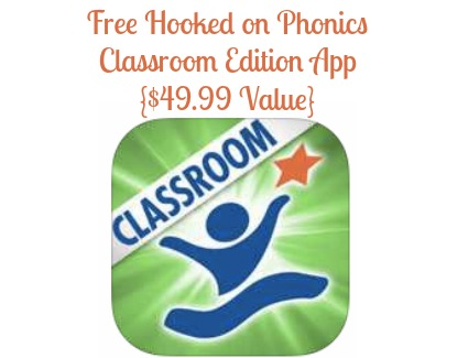 FREE Hooked on Phonics Learn to Read Classroom Edition App -Living