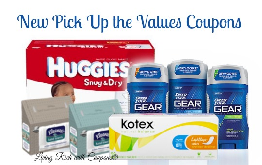 Pick Up The Values Coupons Over 35 In New Printable