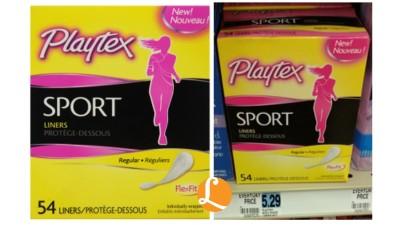 playtex sport liners RA