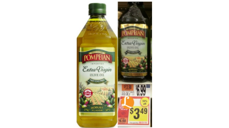 Olive oil coupons
