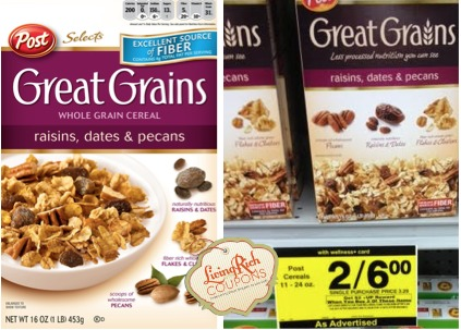 Post Cereal Rite Aid Deal