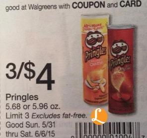 pringles Walgreens