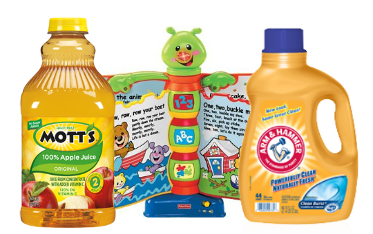 graphic about Fisher Price Printable Coupons named Fresh Reset Printable Coupon codes - More than $150 - Motts, Arm