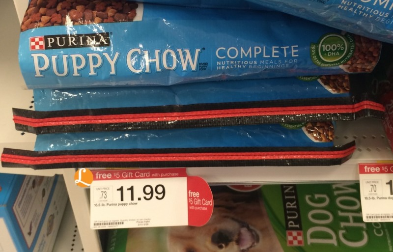 puppy chow Target