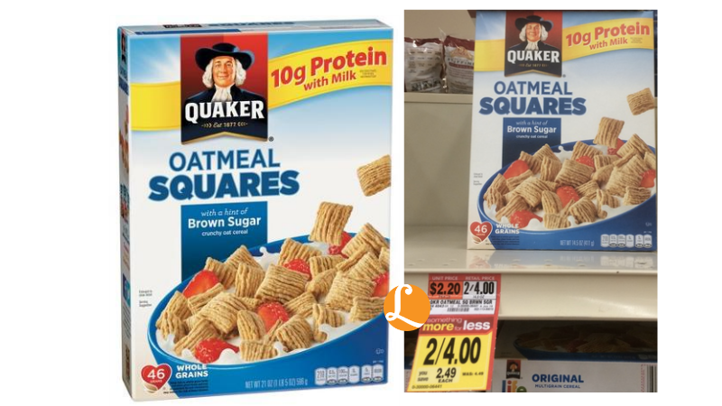 Nov 30, · In Grocery: $ Printable coupon valid on any two boxes of Pumpkin Spice or Gingerbread Spice Quaker Instant Oats or Life cereal. $ Off Quaker Oatmeal & Life Cereal Kroger: Save $ on 2 Quaker Oats or Life cereal.5/5(7).