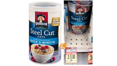 quaker steel cut oats acme